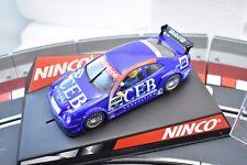 "NINCO 1/32 SLOT CARS # 50287 MERCEDES CLK DTM  ""CEB"" VODAFONE"