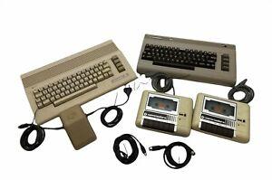 Konvolut Commodore C64 defekt mit Datasette und Netzteil #045