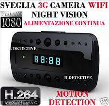 Spy Camera Spia WIFI HD MOTION DETECTION TELECAMERA MICRO NASCOSTA MICROCAMERA