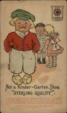 Kinder-Garten Shoes Sterling Quality - Sad Dutch Boy SMITH-WALLACE CHICAGO IL