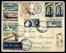 Used Cover Italian Stamps