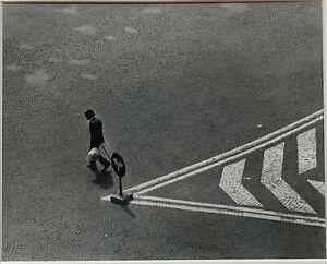 STEVE CROUCH 'Man on Cobblestone Road' Carmel CA Photo - Ansel Adams Assistant