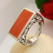 1372.Antiker Ring Silber Ring 925 Silber RG 52 (16,5 mm Ø) rotoranger Achat TOP