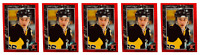 (5) 1992 Legends #25 Mario Lemieux Hockey Card Lot Pittsburgh Penguins
