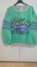 Best company skiiny felpa maglia maglione tg L sweatshirt vintage 80s rare 1983