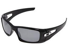 Oakley Crankcase Polarized Sunglasses OO9165-08 Polished Black/Black Iridium