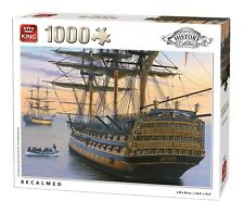 1000 Piece History Collection Jigsaw Puzzle - BECALMED NELSON FLAGSHIP 05620