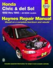 1992-1995 Haynes Honda Civic & del Sol Repair Manual