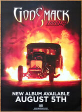 GODSMACK 1000HP Ltd Ed HUGE New RARE Poster +FREE Rock Poster! When Legends Rise