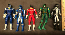 Lot Of 5 -2005/2006 Power Rangers Figures