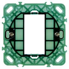 Vimar Plana 14601 Supporto scatola tonda diametro 60 mm 1 modulo con griffe