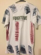 90s Vintage FUGITIVE  SKATEBOARD Men's 2 Sided RARE T-shirt Large L