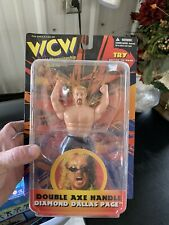 WCW FIGURE LOT CURT HENNING AND DDP DIAMOMD DALLAS PAGE NEW