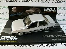 OPE127R 1/43 IXO designer serie OPEL collection : ASCONA C E.Schnell