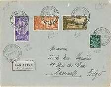 ITALIA storia postale - POSTA AEREA - Busta da Verona a Belgium 12.10.1933