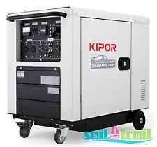Electric Start Kipor ID6000 Diesel 5.5Kva Inverter Generator
