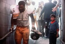 MEAN JOE GREENE 8X10 PHOTO PITTSBURGH STEELERS NFL FOOTBALL & BOY COMMERCIAL