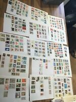 Peru Stamps 16 leaves vintage to modern different collections #T