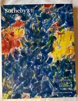 Sotheby's Contemporary Art Morning Auction catalog 18 November 2016 New York