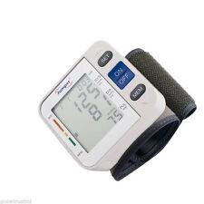 Mini Automatic Digital LCD Wrist Blood Pressure Pulse Rate Monitor High Quality