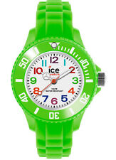 ICE WATCH MINI Kinderuhr 000746  Mn.Gn.M.S.12 Silikon Green / Grün neu