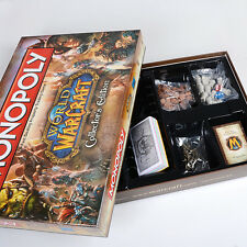 NEW Monopoly World of Warcraft Dota 2 Collector's Edition Family Board Game Gift