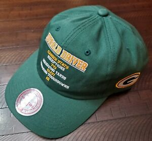 Mitchell & Ness Donald Driver Green Bay Packers Adjustable Hat Green