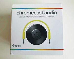 Google Chromecast Audio Media Streamer-Never Opened-Still Sealed-Aus stock-New