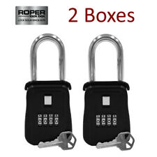 {LOT OF 2} Key Lock Box for Home Security, Welfare Check, Medical Emergency