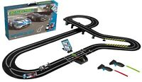 Scalextric Set C1403 World GT Racing Set: APP Stats,Wireless Handsets,12 Layouts