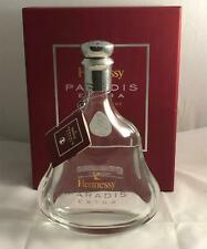 Hennessy Paradis Extra Rare Cognac Empty Crystal Bottle with Box & Booklet