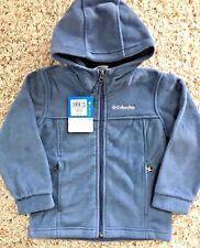 Boys 4-7  Columbia Fleece Flattop Ridge Zip Lightweight Jacket, Size XXS (4/5)