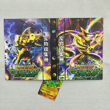 1X Pokemon Card Folder Hard Cover Binder Trading Cards Protector Kids Boys Gifts