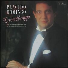 Placido Domingo, Love Songs, VG+/VG+  LP (6931)