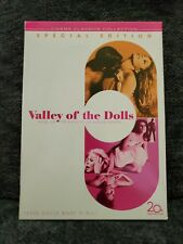 Valley Of The Dolls Special Edition Dvd Cinema Classics Vgc Sharon Tate (2-disc)
