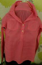Beautiful Classic Boden pink ramie/ cotton shirt as n e w size 6