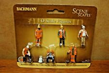 BACHMANN SCENE SCAPES MAINTENANCE WORKERS O SCALE FIGURES