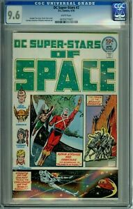 DC SUPER-STARS SPACE 2 CGC 9.6 WHITE PAGES HIGHEST GRADED