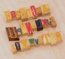 A-Z Holzbuchstaben 20/40 mm Plakatlettern Buchstaben Holzlettern Lettern Holz