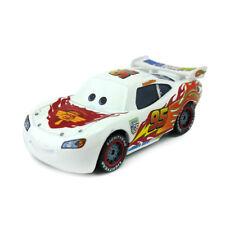 Disney Pixar Cars White Lightning McQueen Diecast Toy Car 1:55 Boy Gift