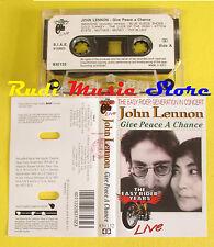 MC JOHN LENNON Give peace a chance 1993 italy NOTA BLU BEATLES no cd lp dvd vhs