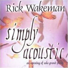 Rick Wakeman - Simply Accoustic [New CD]