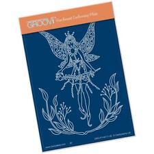 Clarity Stamps Groovi parchemin gaufrage A6 Plaque - Fée 4