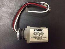 "TORK 2105 PHOTOCONTROL 1/2"" CONDUIT MOUNTING 120VAC DIE CAST ZINC - NEW"