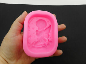 Stampo in silicone alimentare per angeli, perfetto per saponette, Soap mould