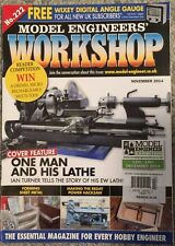 Model Engineers Workshop One Man And His Lathe November 2014 FREE SHIPPING