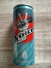 1 Volle Energy drink Dose Blue Lemonade Germany The Voice Kids Can Full pro7 sat