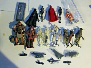 Star Wars Action Figure Loose Mixed Lot Vintage Collection Clone Wars Droids