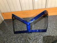 2005-06 Polaris Fusion 600 700 900 Headlight Cover Trim Bezel Blue #1215195