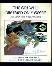 Press Packet for The Girl Who Dreamed Only Geese by Howard Norman Signed